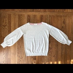 Boden Muriel Sweater Grey EUC Size Small
